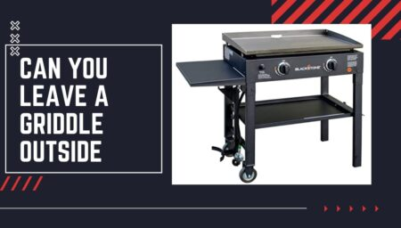 Can You Leave a Griddle Outside? – Grills Guide